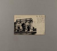 [(Unclear) postcard to Minnie Parlow, December 22 1903]