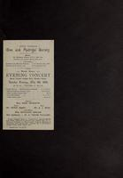 1905-05-09/England/London/Ephemera